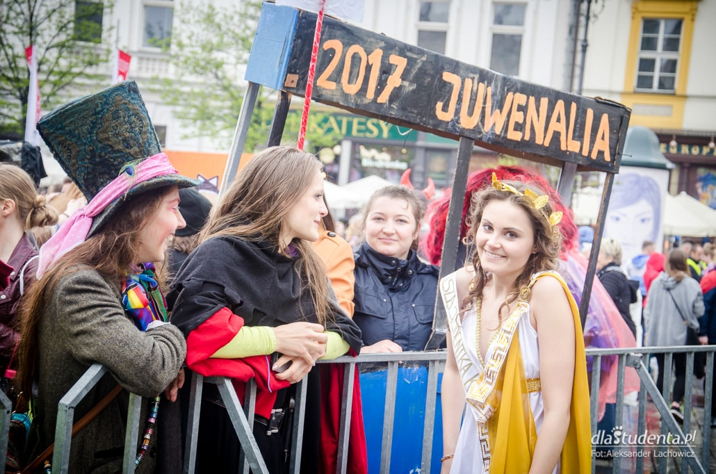 Korowód Juwenaliowy 2017 Kraków zdjęcia