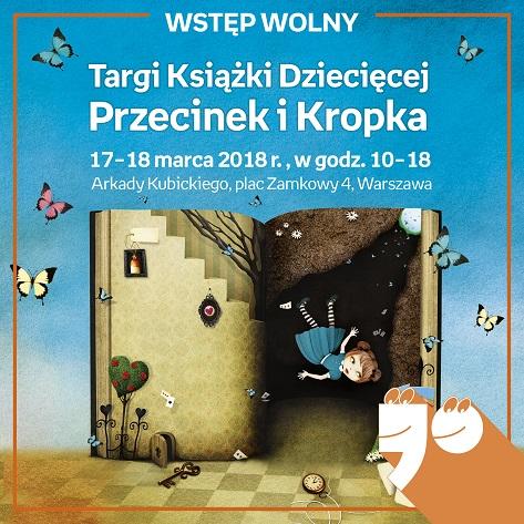 Targi Książki Dziecięcej Przecinek i Kropka 2018