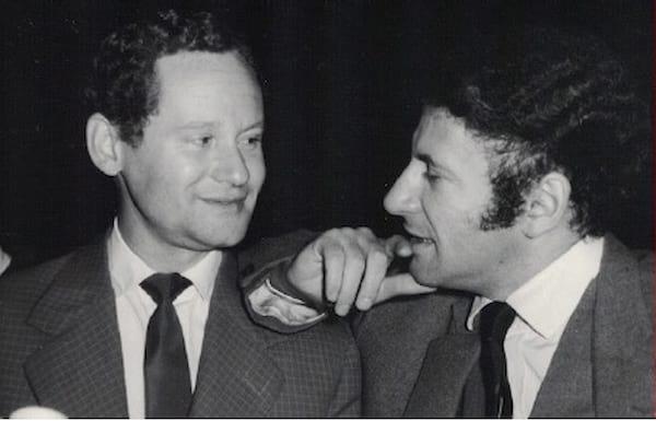 Henryk Tomaszewski i Marcel Marceau
