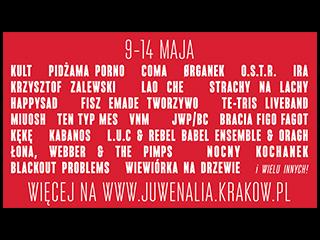 Znamy program Juwenaliów Krakowskich 2017! - krakow, juwenalia, rozrywka, studenci, ira, coma, figo fagot