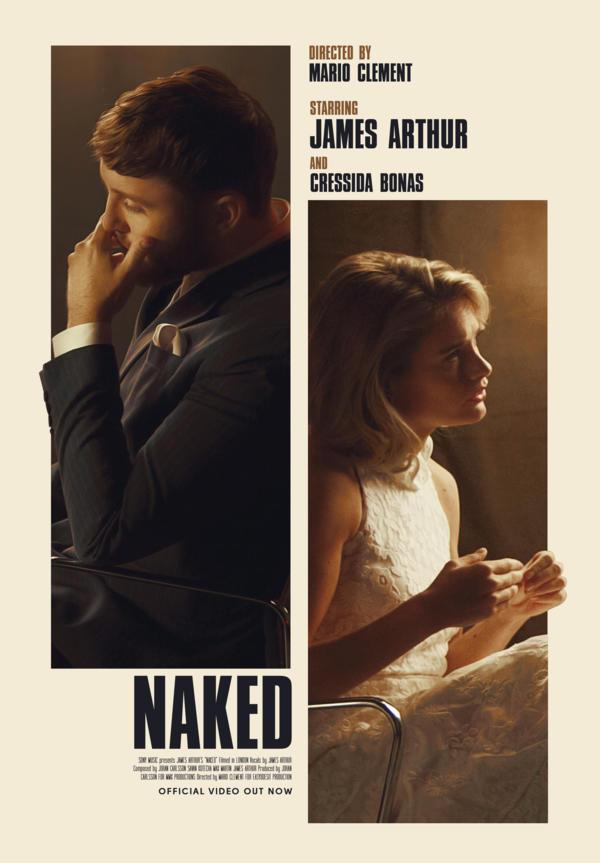 """JAMES ARTHUR ujawnia klip do zupełnie nowej piosenki """"Naked""""!"""