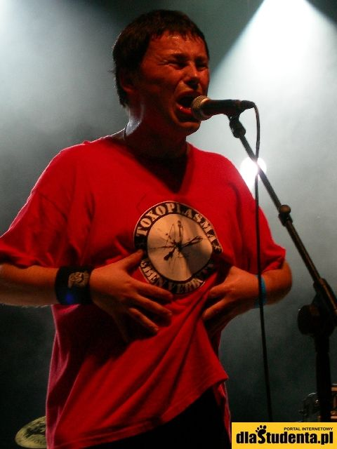 Wojtek Wojda - lider zespołu Farben Lehre