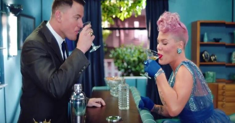 Pink i Channing Tatum razem w nowym klipie![WIDEO]