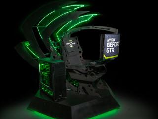 Tron dla prawdziwego entuzjasty gier komputerowych - tron do gier, komputer do gier, sprz�t do gier, karta graficzna nvidia
