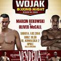 Wojak Boxing Night w Opolu! - wojak boxing night na żywo transmisja zobacz walka rekowski mccall wawrzyk williams