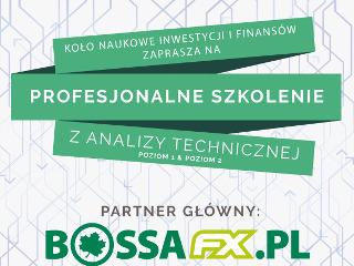 Profesjonalne Szkolenie z Analizy Technicznej Poziom 1 & Poziom 2 - III edycja - Szkolenie z Analizy Technicznej, Koło Naukowe Inwestycji i Finansów, szkolenia dla studentów