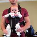 Tata i jego niemowlę tańczące Jackson'a! Film bijący rekordy na świecie! [WIDEO] - Moonwalk, Daddy Jackson Baby, dziecko tańczące moonwalk, Michael Jackson