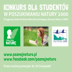 """Zosta�o kilka dni na zg�oszenia do konkursu """"W poszukiwaniu Natury 2000"""" - w poszukiwaniu natury 2000 konkurs zg�oszenia"""