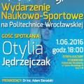 Przyjdź na Fizykę Sportu - fizyka sportu 2, otylia jędrzejczak na pwr, politechnika wrocławska