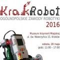 KrakRobot 2016: Krak�w stolic� robotyki - krakrobot 2016, festiwal nauki, festiwal robotyki