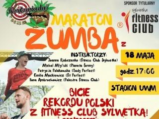 Maraton Zumba Kortowiada 2016 – pr�ba bicia rekordu Polski! - maraton zumba, rekord polski w ta�cu zumby, Stadion G��wny UWM, kortowiada