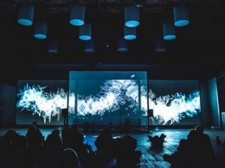 NIGHT MEDIA LAB-audiowizualne eksploracje w CeTA [ZDJ�CIA] - laboratorium nocnych medi�w, audiowizualne eksploracje, biosphere, wroc�aw