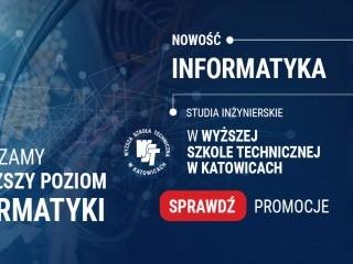 Rekrutacja na informatyk� na WST wci�� trwa! - informatyka wst, wy�sza szko�a techniczna, katowice