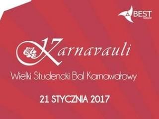 Karnavauli już wkrótce! - wielki bal studentów, karnavauli, aula politechnika warszawa