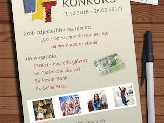 Konkurs na WST - zrób zdjęcie i wygraj 1500zł! - konkurs dla licealistów, konkurs foto filmowy, wyższa szkoła techniczna, katowice