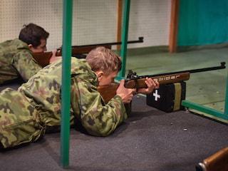 """""""Poligon z Bankową"""", czyli szkolenia wojskowe dla młodzieży - poligon z bankową, szkolenia wojskowe dla młodzieży, wsb chorzów"""