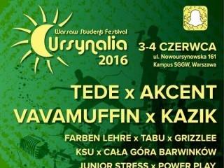 Ursynalia Warsaw Student Festival 2016 [PROGRAM] - ursynalia 2016 program, bilety na ursynalia