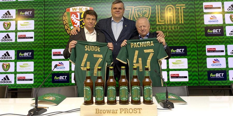 Browar Prost partnerem Śląska Wrocław