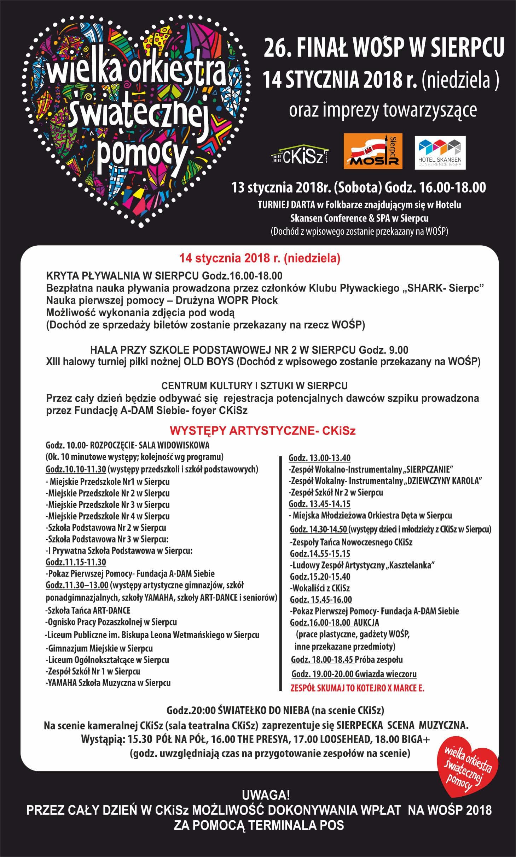 Wielka Orkiestra Świątecznej Pomocy w Sierpcu