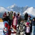 Niecodzienne atrakcje w Tatrzańskiej Łomnicy - zima narty Zakopane Tatrzańska Łomnica stoki warunki narciarskie rozrywka artakcje dzieci snowboard