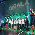 Srebrna odznaka AZS dla mgr Marty Daleckiej z Uniwersytetu Zielonogórskiego - Gala Sportu Akademickiego, Mistrzostwa Polski AZS, sport osób niepełnosprawnych