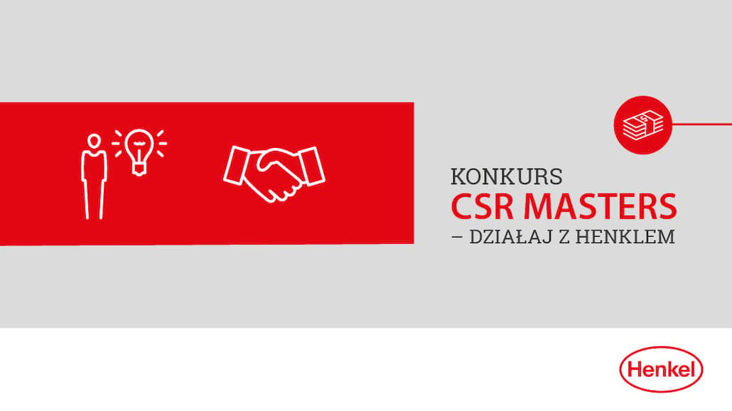 Weź udział w II edycji konkursu CSR Masters - Działaj z Henklem!