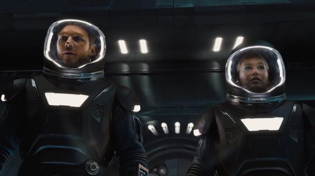 """Jennifer Lawrence i Chris Pratt jako """"Pasażerowie"""". Zobacz efektowny zwiastun! [WIDEO]"""