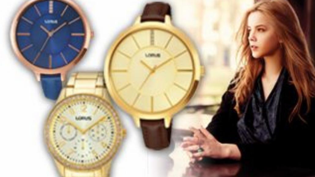Nowa kolekcja damskich zegarków Lorus