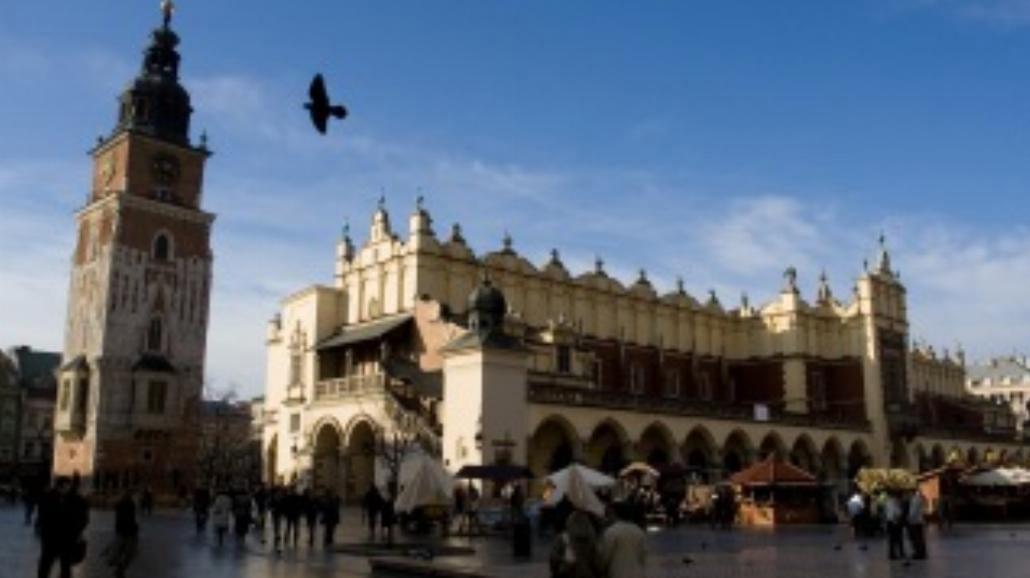 Kraków letnią porą