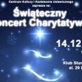 Świąteczny Koncert Charytatywny na Uniwersytecie Rolniczym - wydarzenie, wystąpienie, muzyka, święta, wystawa, licytacja