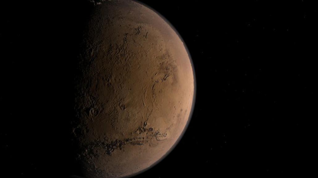 Na Marsie odkryto wodę!