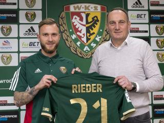 Tim Rieder został nowym piłkarzem Śląska Wrocław - wks, klub, Wrocław, transfer, zawodnik