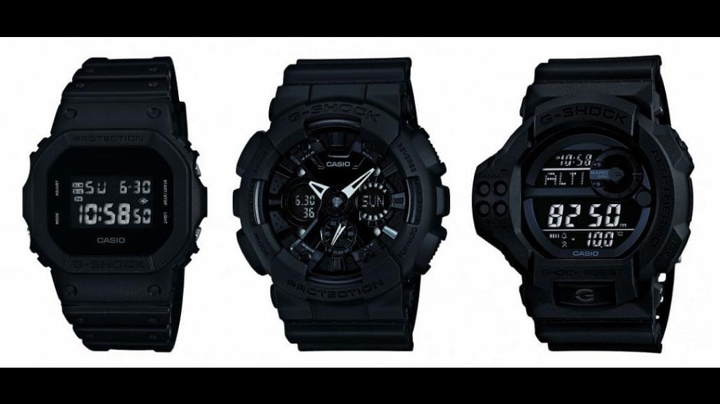 Nowe modele zegarków od Casio G-Shock