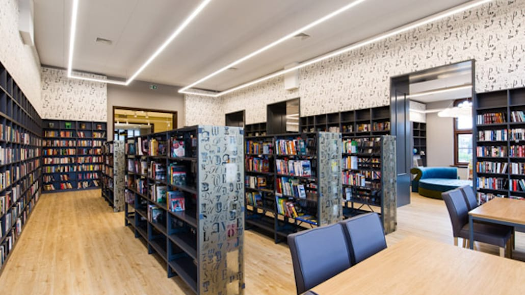 biblioteka na dworcu