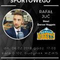 II Spotkanie cyklu Świat Skautingu Sportowego - Denver Nuggets, Koło Naukowe Managerów Sportu UJ, UJ, Uniwersytet Jagielloński