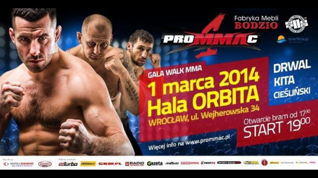 W sobotę Gala MMA we Wrocławiu. Sprawdź, kto będzie walczył!