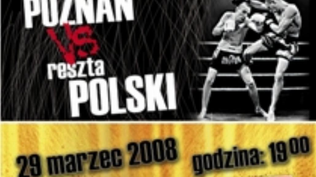 Poznań powalczy z Resztą Polski w Muay Thai & K-1