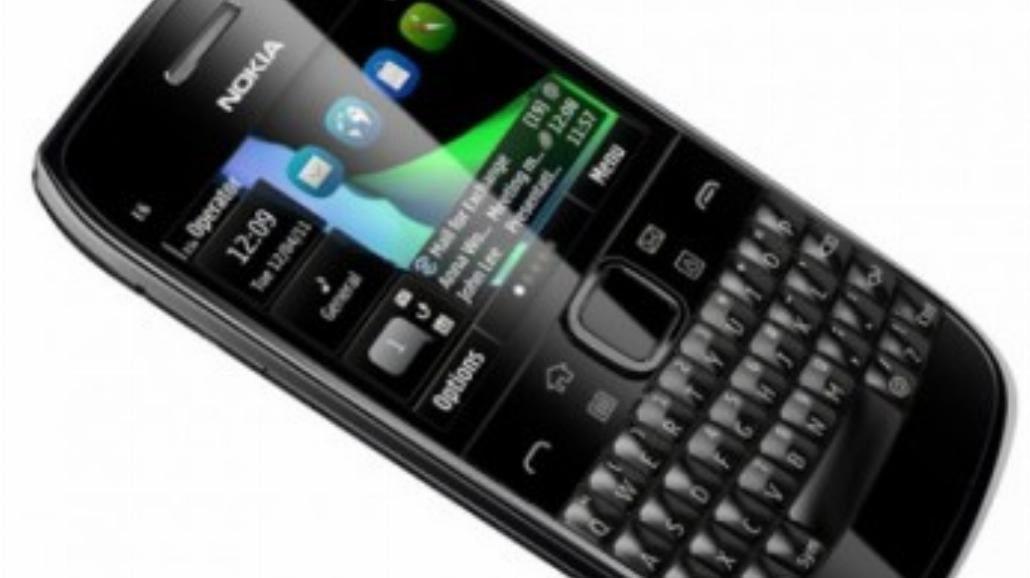 Nokia E6 - test telefonu