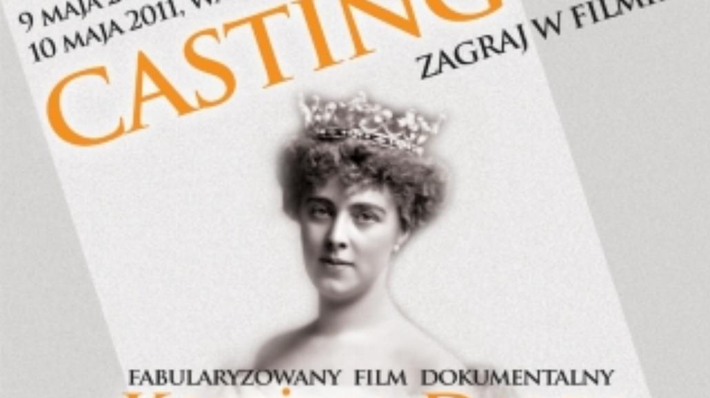 Wrocław: Casting do filmu o Księżnej Daisy