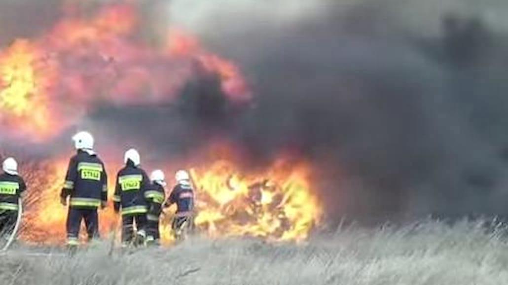Wielki pożar w Wąchocku