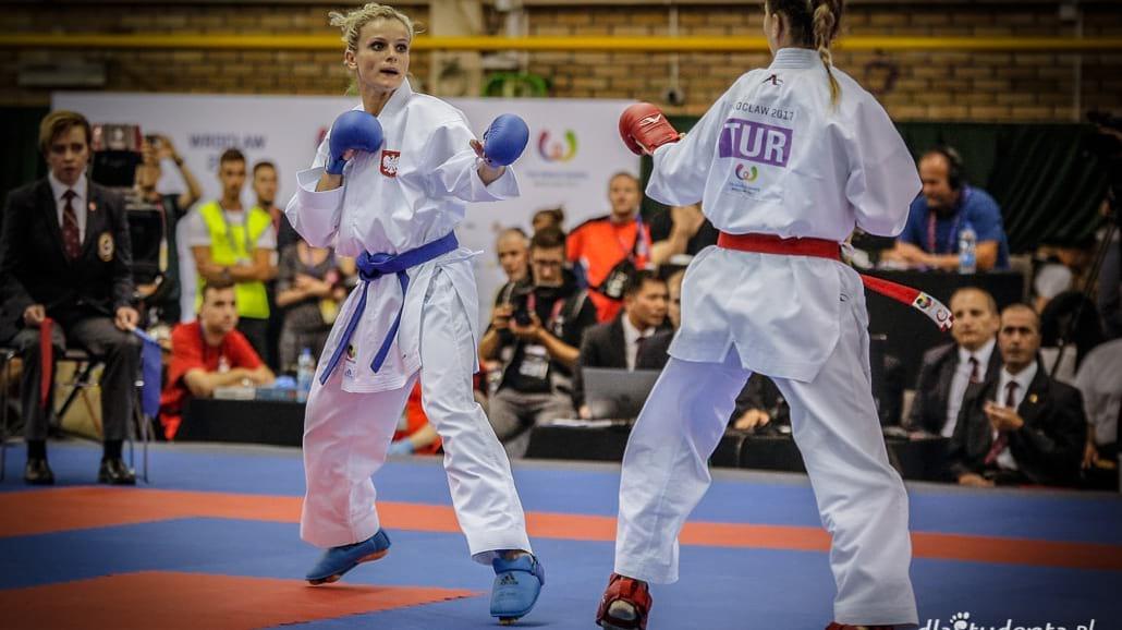 The World Games 2017: Zobacz pojedynki karate [FOTO] - Gem, rywalizacja, turniej, sztuka walki, Nowakowska,