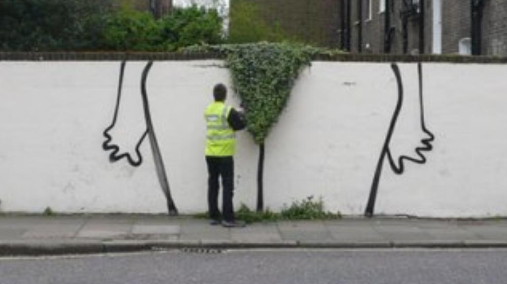 Banksy znów zaatakował! [FOTO]