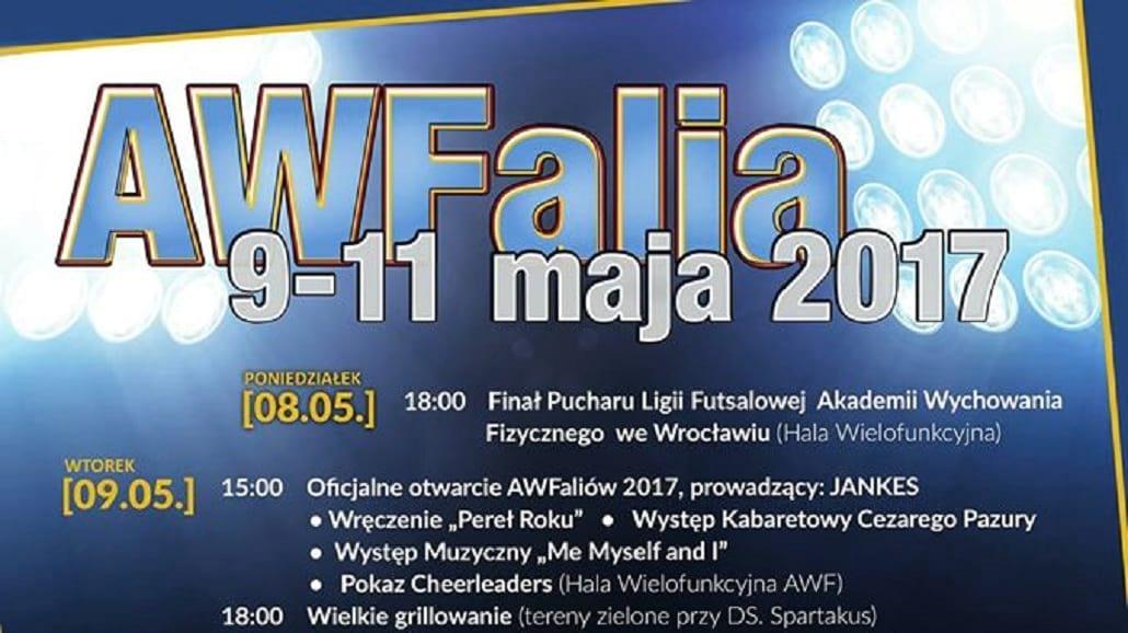 AWFalia Wrocław 2017