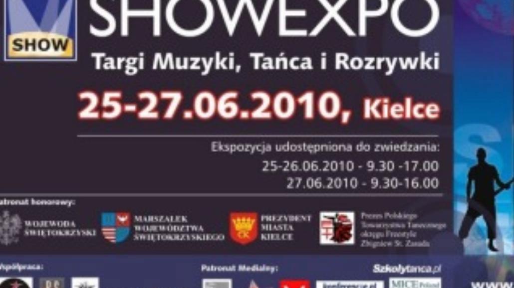 Gwiazdy You Can Dance na Showexpo 2010