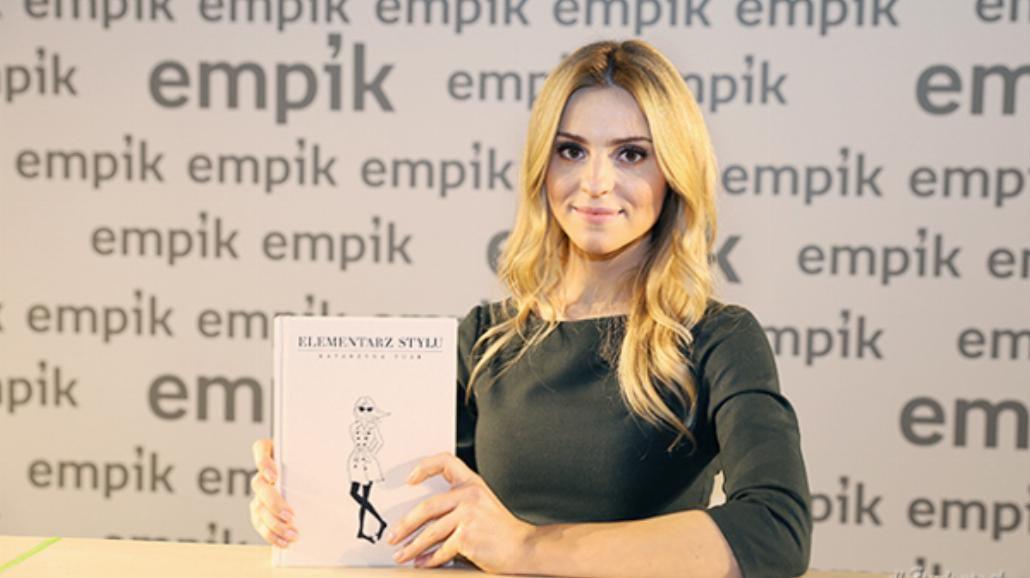 """Kasia Tusk promowała swój """"Elementarz stylu"""" w Warszawie [ZDJĘCIA]"""