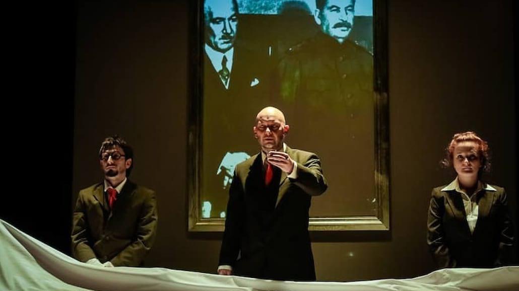 Tragiczna historia pomnika Stalina najnowszą premierą Wrocławskiego Teatru Lalek [FOTO]