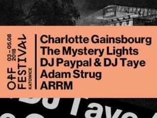 Charlotte Gainsbourg i kolejne gwiazdy OFF Festival Katowice 2018 - festiwal, letnie festiwale 2018, koncerty, Katowice, muzyka alternatywna