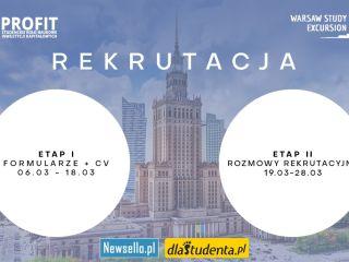 Warsaw Study Excursion - aplikuj i weź udział w projekcie! - warsztaty, rekrutacja, spotkania, rynek finansowy