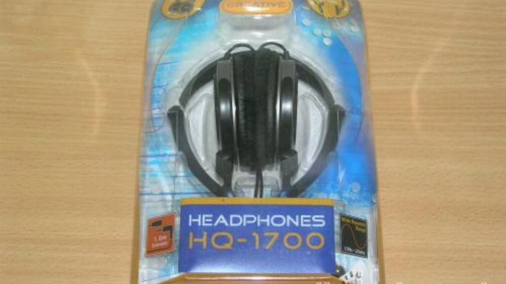 Test słuchawek Creative HQ-1700