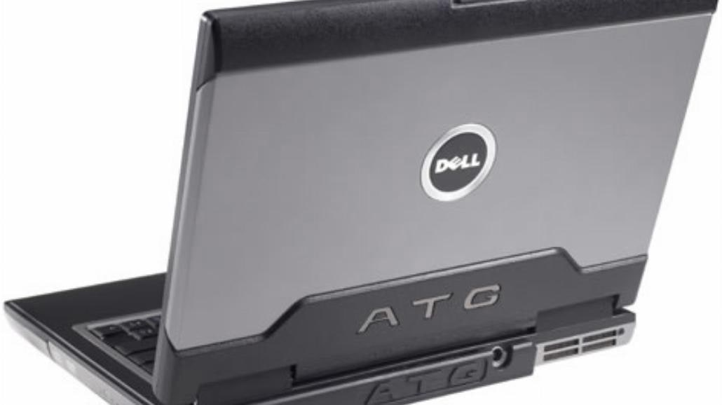 Pancerny laptop Dell